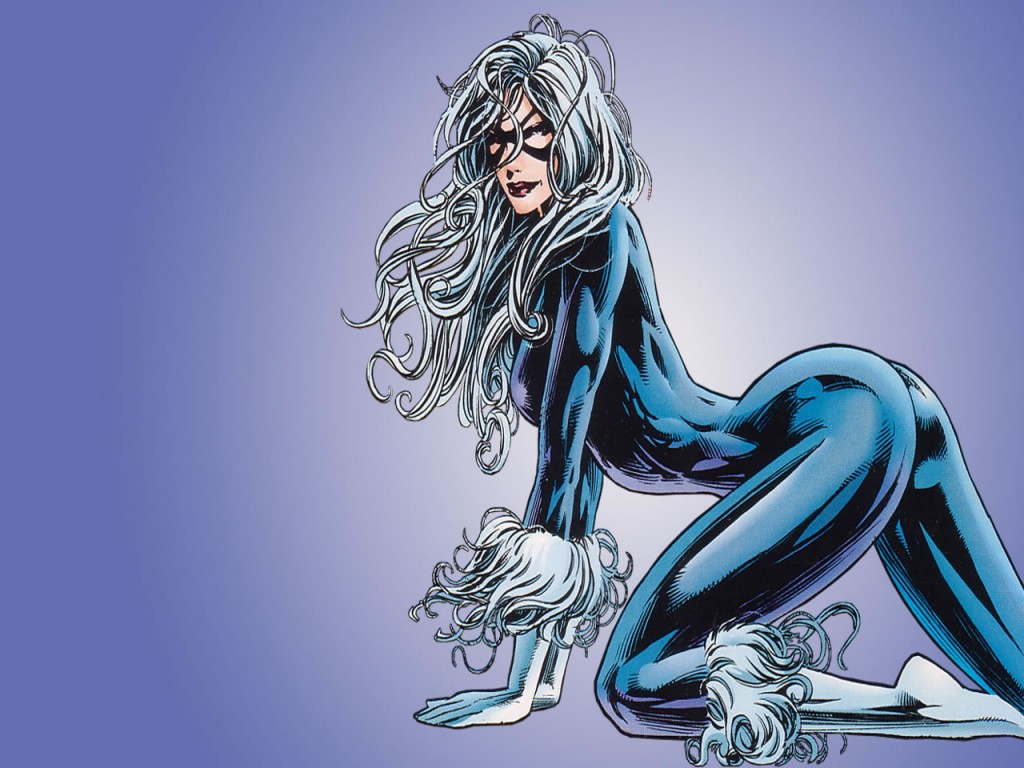 Black Cat Comics Wallpaper