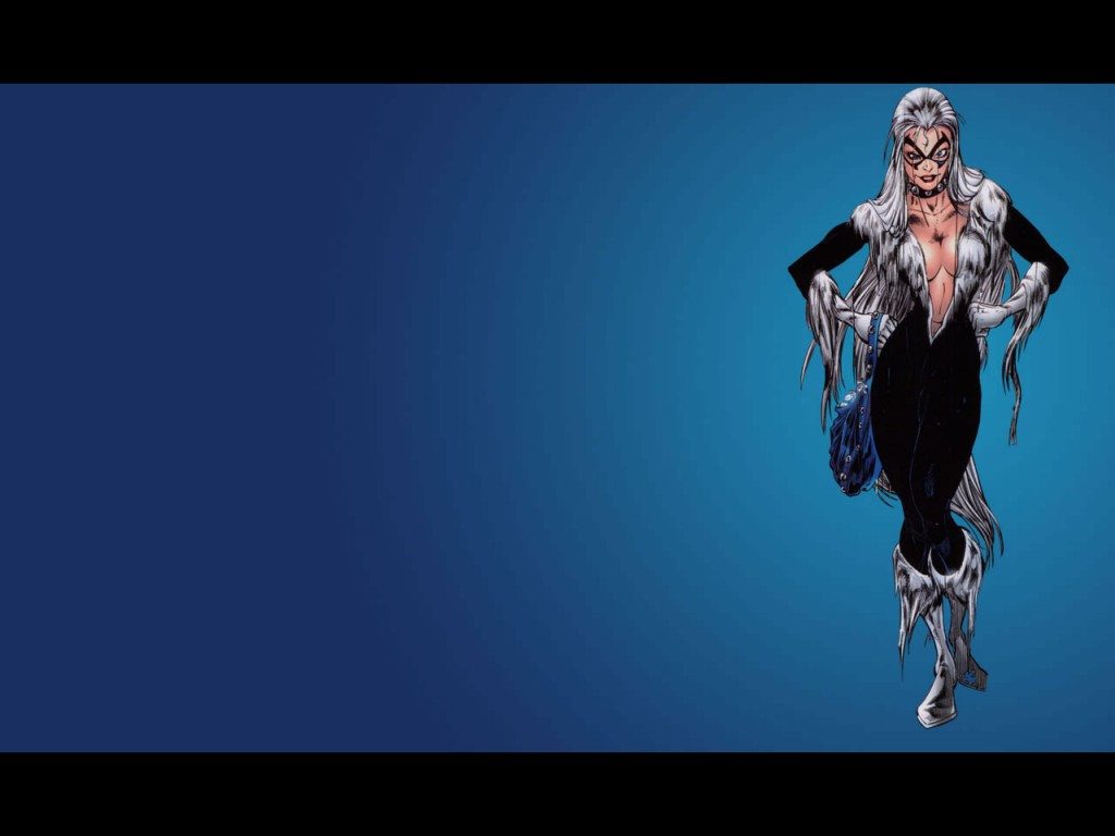 Black Cat Marvel Comics Wallpaper