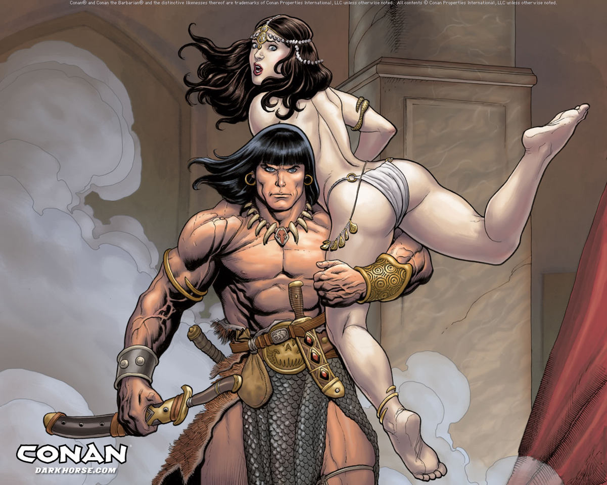 Conan Barbarian Cartoon