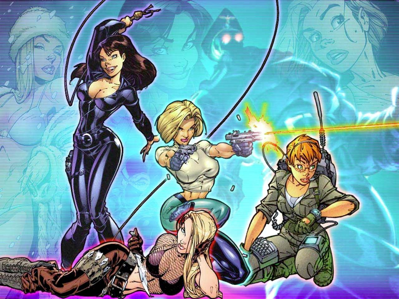 danger girl wallpaper - photo #9