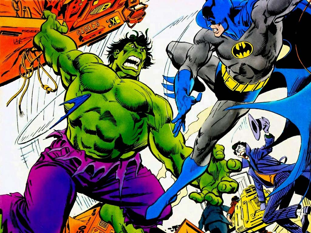 Hulk vs Batman