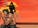 Ladydeathstrike and Wolverine