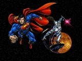 Silver Surfer and Superman