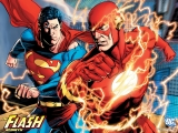 The Flash Rebirth and Superman
