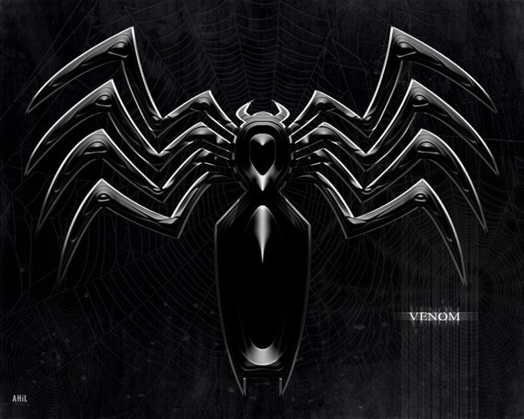 Venom SpiderVenom Logo Wallpaper